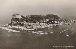 *** GIBRALTAR  ***  Gibraltar Aerial View Of Rock Unused TTB - Gibraltar