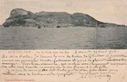 *** GIBRALTAR  ***  Rock  From The Bay  Stamped TTB - Gibraltar