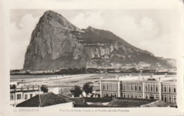 *** GIBRALTAR  ***  Rock  From Spain  The Bay  Stamped TTB - Gibraltar
