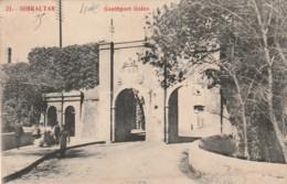 *** GIBRALTAR  ***  GIBRALTAR  Southport Gate écrite - Gibraltar