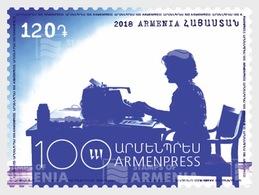 Armenië / Armenia - Postfris / MNH - 100 Jaar Telegraaf 2018 - Armenië