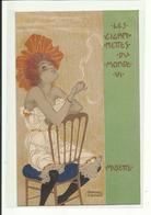 Top Cpa Kirchner, Les Cigarettes, Musette, Précurseurs, Port En Suivi + Frais 2,00 - Kirchner, Raphael