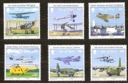 Île De Man 2008 Yvertn° 1444-1449 *** MNH   Cote 15 Euro Aviation Airplanes RAF - Man (Ile De)