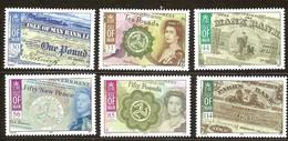 Île De Man 2008 Yvertn° 1456-1461 *** MNH   Cote 15 Euro Numismatique Billets De Banque - Man (Ile De)