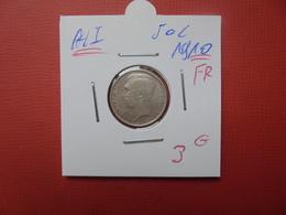 Albert 1er. 50 Centimes 1910 FR ARGENT - 1909-1934: Albert I