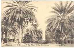 5 CPA Tunisie - Tunis, Bizerte, Carthage ( 1 Cp Tampon Marine Française Service à La Mer, Postée D'un Bateau ) - Tunisie