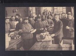 CP Camp De Crossen Ditribution Du Courrier - Weltkrieg 1914-18