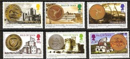 Île De Man 2010 Yvertn° 1650-1655 *** MNH   Cote 17,50 Euro Pièces De Monnaie Munten - Man (Ile De)