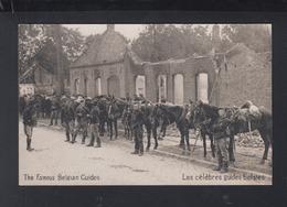 CP Les Celebres Guides Belges - Weltkrieg 1914-18