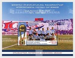 Armenië / Armenia - Postfris / MNH - Sheet Voetbal, Club Nacional 2018 - Armenië