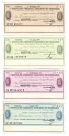 Italy Miniassegni / Emergency Check - Set Serie Banca Credito Agrario Di Ferrara - [10] Cheques En Mini-cheques