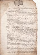 Gen Montauban 1668 Jugement Souverain Pour Samouillan Et Luscan 4 Scans - Cachets Généralité