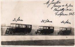 CPA 85 * 132  60   CHANTILLY---BUS 30, 25, 20 PLACES---GARAGE DE LA GARE ---TRES TRES RARE ? - Chantilly