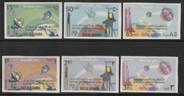 RAS AL KHAIMA - Série NON DENTELE  ** (1966)  100 Ans UIT - ESPACE - Space