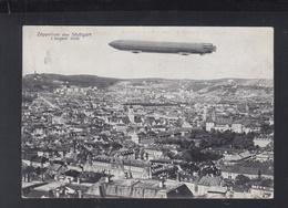 Dt. Reich AK Zeppelin über Stuttgart 1908 - Stuttgart