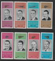 RAS AL KHAIMA - Série SURCHARGEE  ** (1966)  Astronautes De La NASA - ESPACE - Space