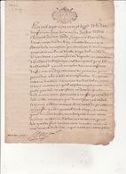 Gen Auch Et Pau 19 Juillet 1728 Procès Verbal De Visite Du Bois De La Commune D' Alan  7 Scans - Cachets Généralité