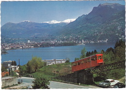 Lugano: MERCURY MONTEREY '60, VW 1200 KÄFER/COX - FUNICOLARE Lugano-San-Salvatore - Cog Railway - Toerisme