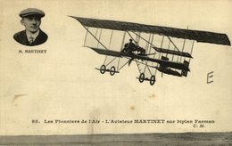 M. MARTINET - Aviones