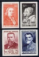 France 1949 International Telephone & Telegraph Congress Postage Set Of 4 Imperf In Issued Colours Mounted Min... - Altri