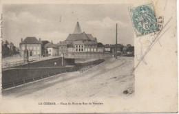 08 LE CHESNE  Place Du Pont Et Rue De Vouziers - Le Chesne