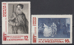 USSR - Michel - 1965 - Nr 3166/67 - MNH** - Ongebruikt