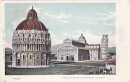 CARTOLINA - POSTCARD - PISA - PIAZZA DEL DUOMO COI PRINCIPALI MONUMENTI - Pisa