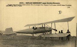 BIPLAN BREGUET - Aviones