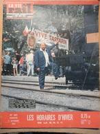 Vie Du Rail 861 1962 Gare De Berlin Tegel Tartarin De Tarascon Saint Jacques De Compostelle Avila Bordeaux Tramways - Trains