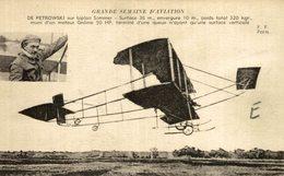 DE PETROWSKI - Aviones