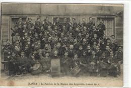 1 Cpa Nancy - La Fanfare De La Maison Des Apprentis Année 1913 - Nancy