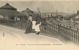 """1 Cpa Nancy - Vue Sur La Gare Des Marchandises """"pionnière"""" - Nancy"""
