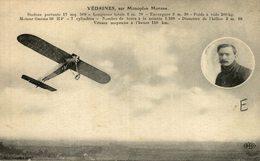 VEDRINE, SUR MONOPLAN MORANE - Aviones