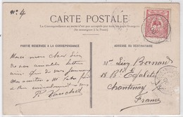 CP - SERVICE MARITIME CÔTE EST - NELLE CALEDONIE / 29 NOV. 1906 - Neukaledonien