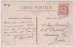 CP - SERVICE MARITIME CÔTE EST - NELLE CALEDONIE / 29 NOV. 1906 - Briefe U. Dokumente