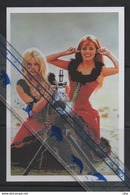 19/1 Brigitte Bardot + Jeanne Moreau Chanteuse Cinema Babe Pin-up Femme - Artistes