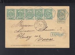 Belgien Expres PK 1899 Verviers - Documents De La Poste