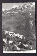 CPSM 38 - VAUJANY - Vaujany Et La Cascade De La Fare - Très Jolie Vue Générale Du Village Et De L'intérieur - Altri Comuni