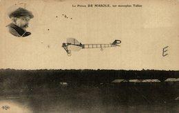 LE PRINCE DE NISSOLE, SUR MONOPLAN TELLIER - Aviones