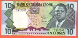 Billet - SIERRA  LEONE - 10 Leones Du 27 04 1988  Pick 15 - Sierra Leone