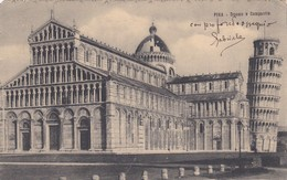 CARTOLINA - POSTCARD - PISA - DUOMO E CAMPANILE - Pisa