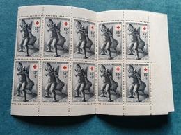 1955 - FRANCE - CARNET CROIX ROUGE - Neuf - Bel état - PIEL - Carnets