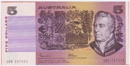 AUSTRALIE - 5 Dollars - Australia - De 1985 - Pick 44e - Emisiones Gubernamentales Decimales 1966-...