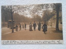 Cpa Bruxelles Tram Avenue Louise  1908 - Avenues, Boulevards