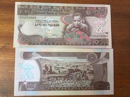 Ethiopia 10 Birr 2015 UNC - Ethiopie