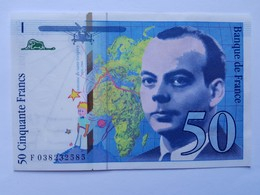 BILLET 50 FRANCS SAINT-EXUPERY De 1997 Neuf Splendide - 1992-2000 Dernière Gamme