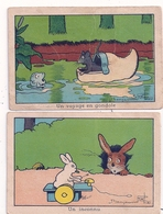 2 Images Benjamin RABIER  Un Inconnu - Rabier, B.
