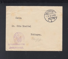 Dt. Reich Brief 1912 Grossherzogliche Angelegenheit Damstadt - Service