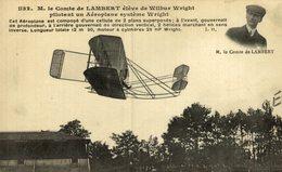 M. LE COMTE DE LAMBERT - Aviones