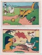2 Images Benjamin RABIER  Le Masque - Rabier, B.